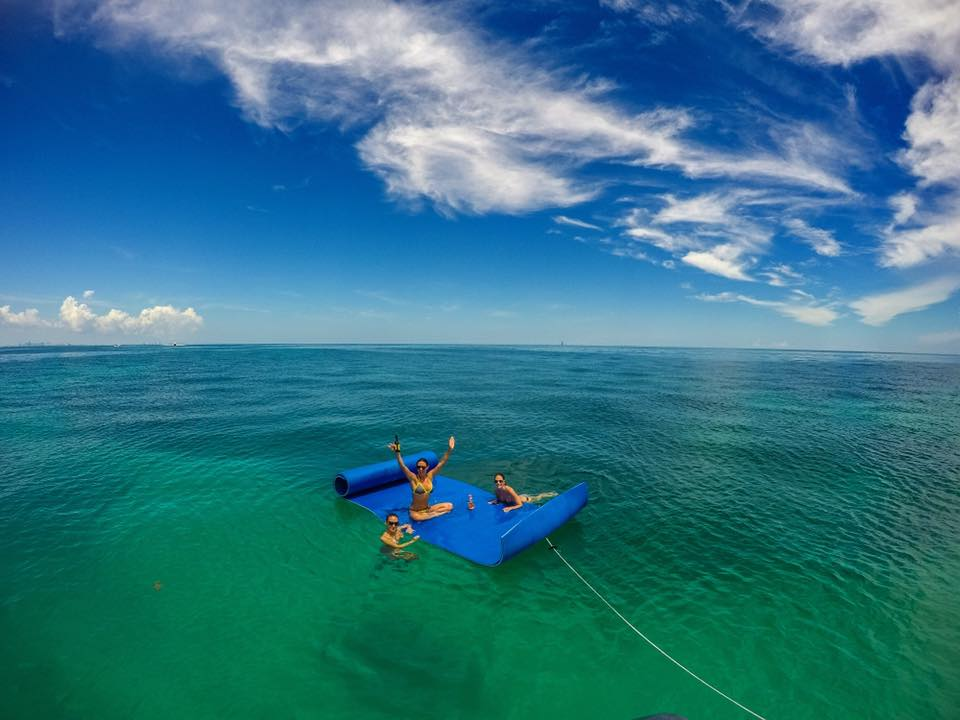 Key biscayne reefs snorkeling spearfishing rent a boat with a captain
