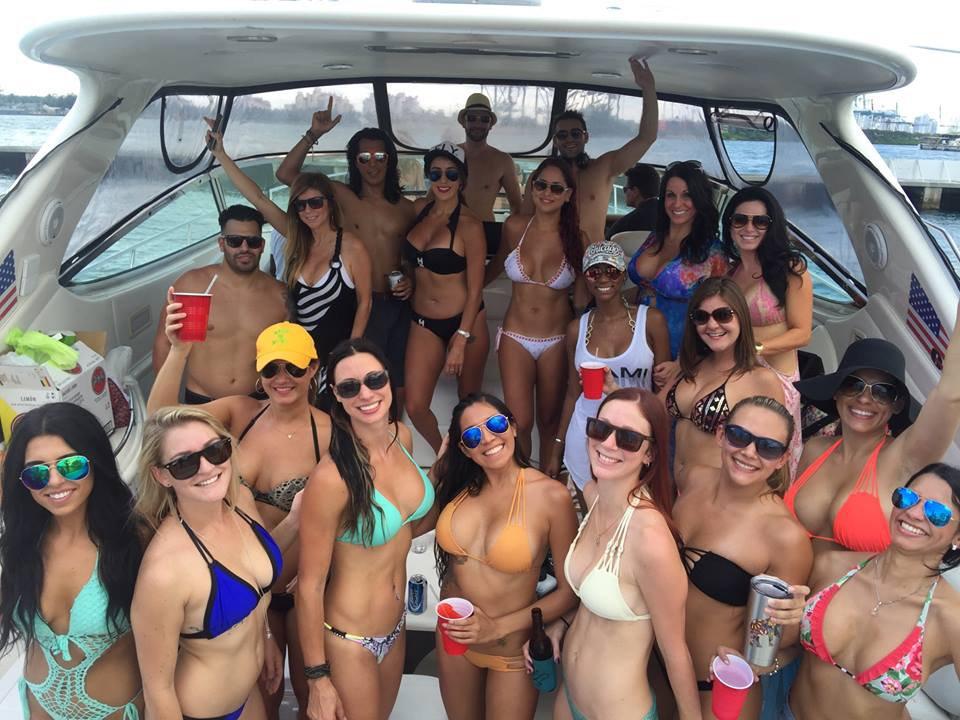 Boat party miami regatta sandbar party