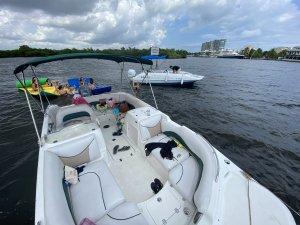 21 ft deck boat rentaboatfortlauderdale